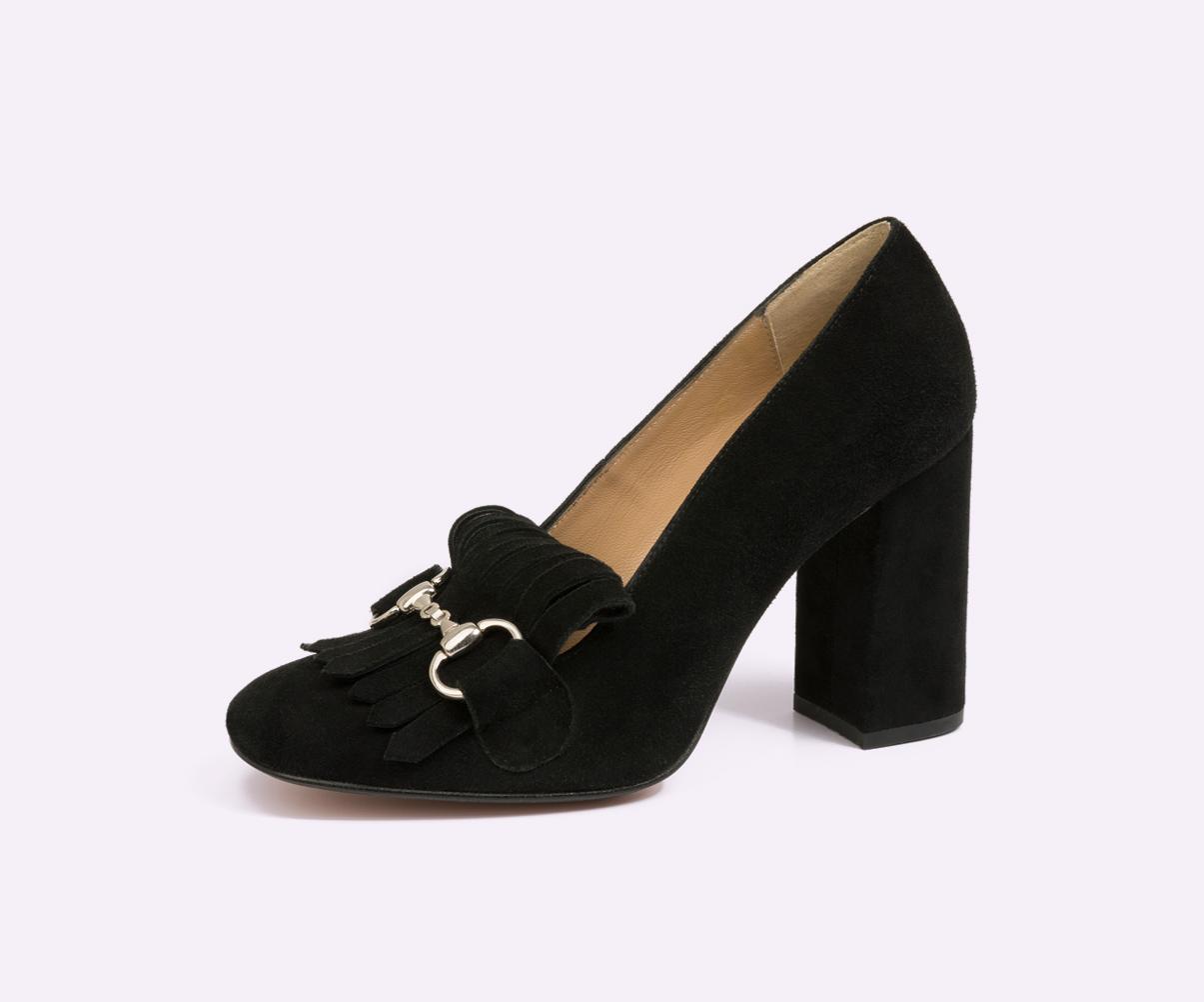 zapatos de tacón para mujer fabricados por la fábrica de zapatos Sandra Stylo