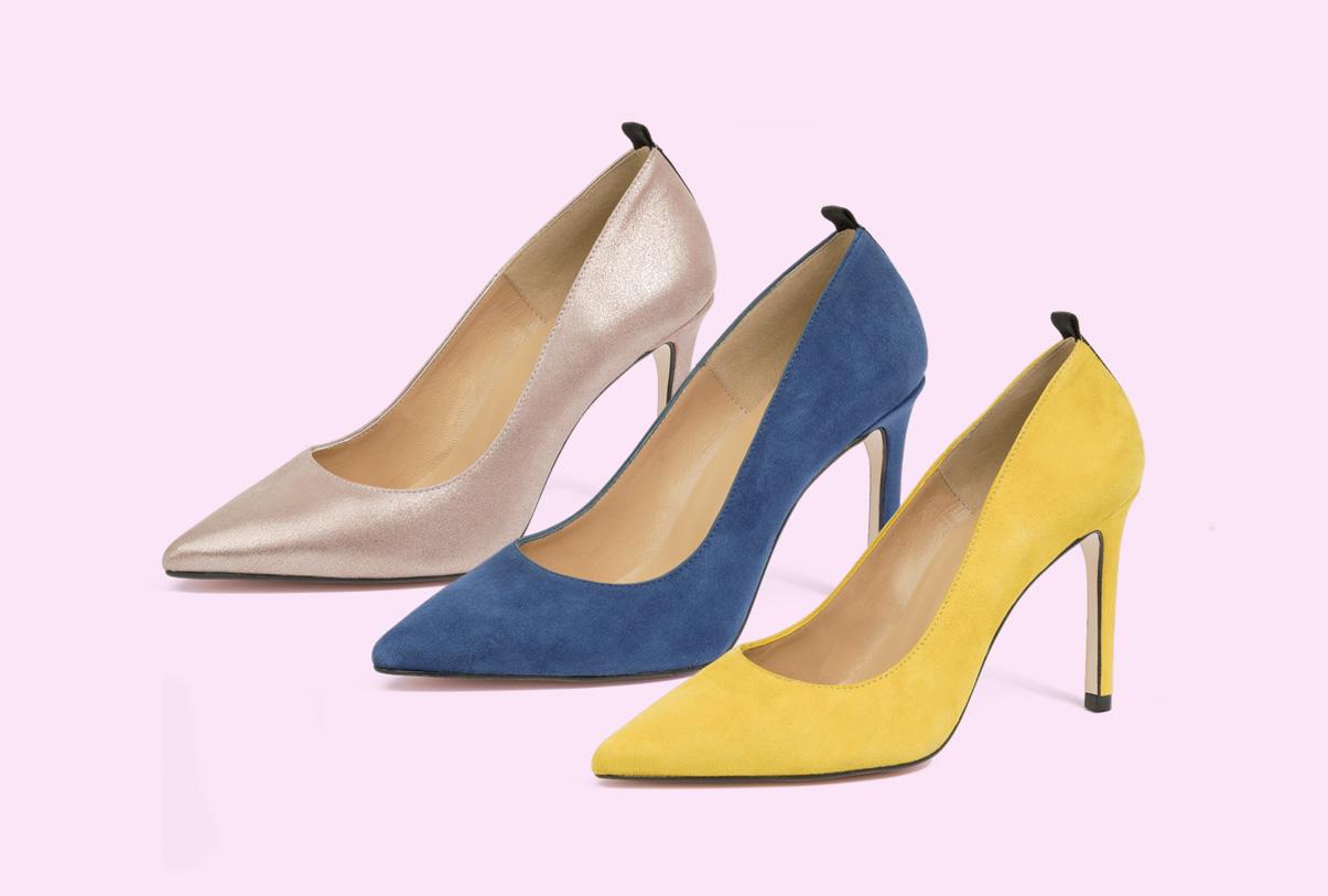 zapatos de tacón de la fábrica de zapatos Sandra Stylo