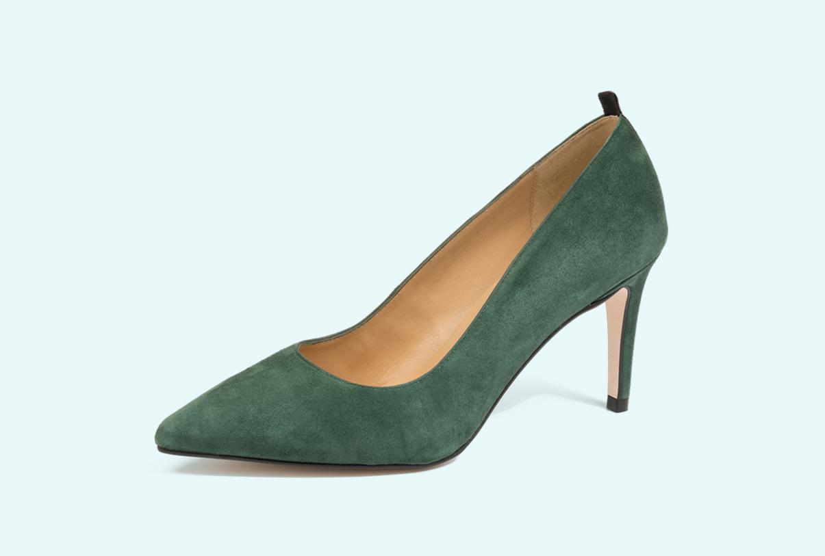 zapatos con tacón para mujer fabricados por Sandra Stylo