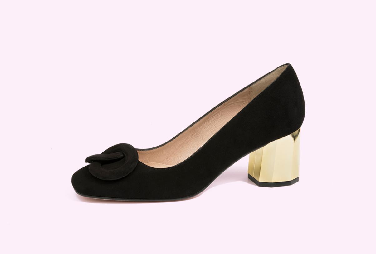 zapatos salón con tacón para mujer